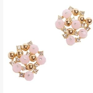 Lilly Pulitzer Earrings POP the Bubbly Pink Gold